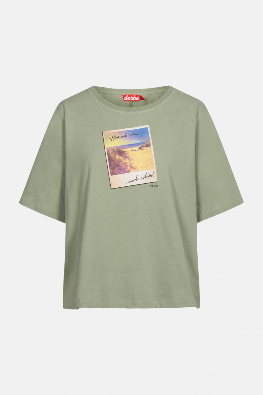 Derbe Auch schön Damen T-Shirt Lily Pad Grün