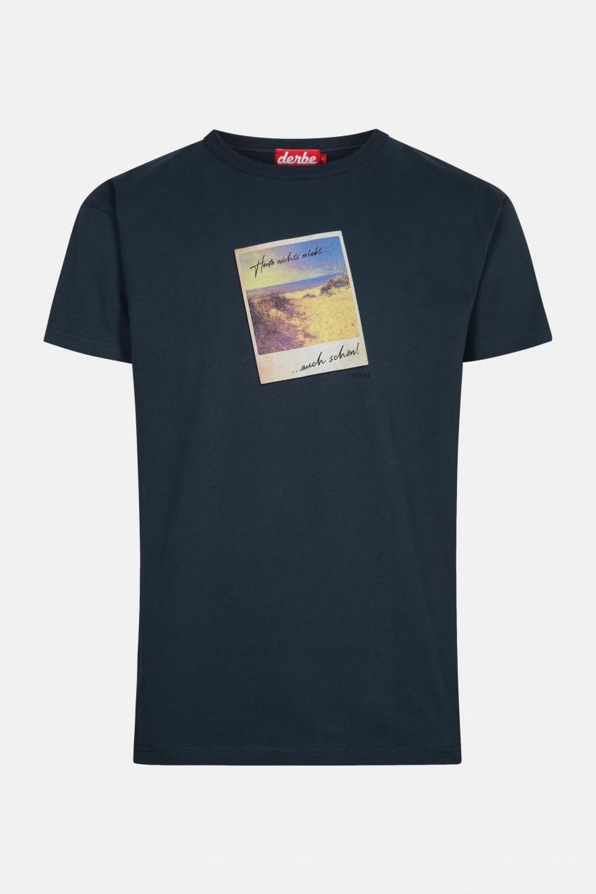 Derbe Auch schön Herren T-Shirt Navy Dunkelblau