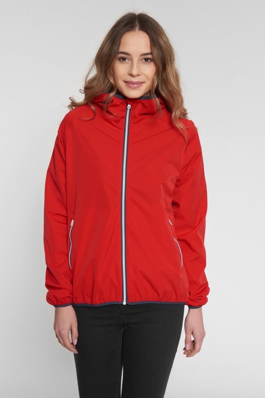Derbe B52 Damen Regenjacke Rot