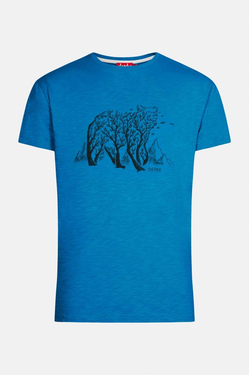 Derbe Bär Herren T-Shirt Swedish Blue Blau