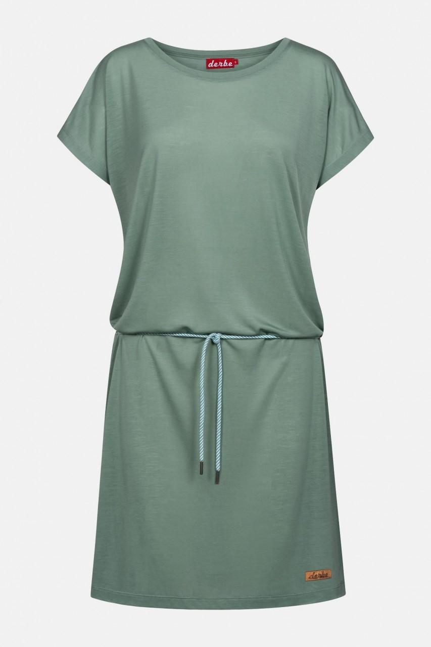 Derbe Botanic Grün Damen Kleid Bio Baumwolle