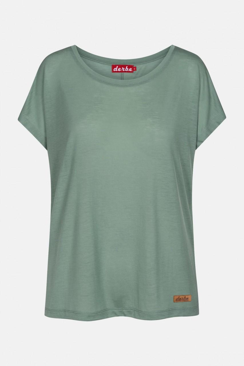 Derbe Botanic Grün Damen T-Shirt