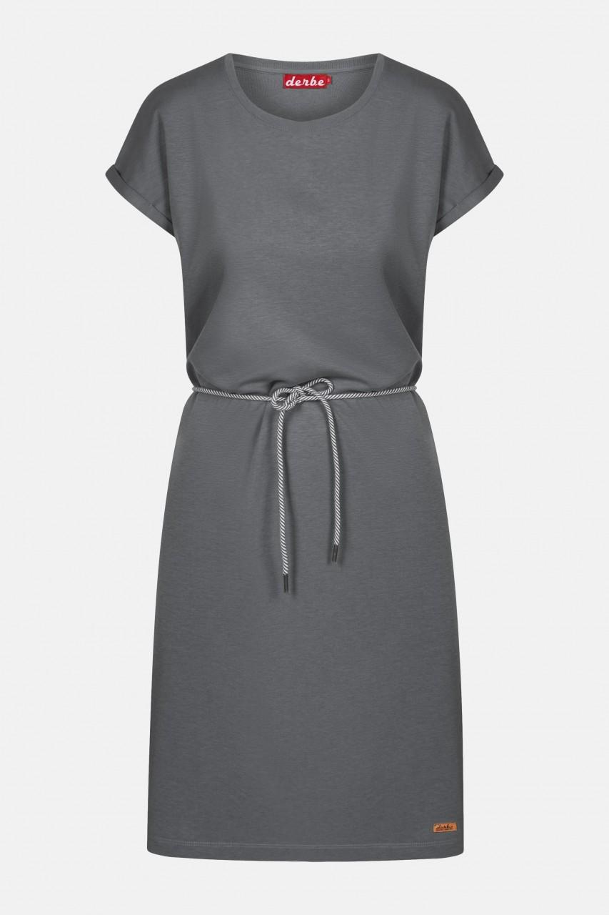 Derbe Brick Dress Castlerock Damen Kleid Dunkelgrau