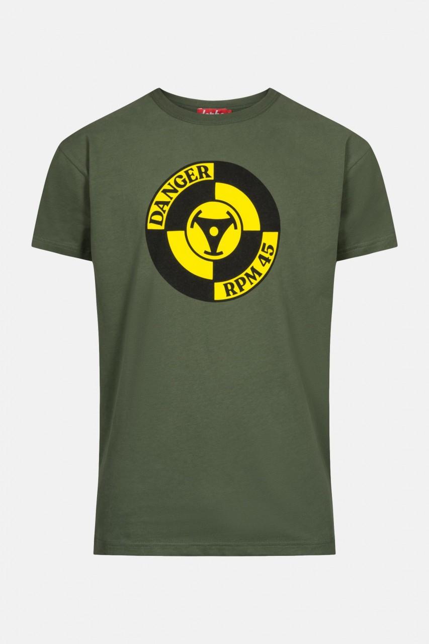 Derbe Danger Herren T-Shirt Oliv RPM 45