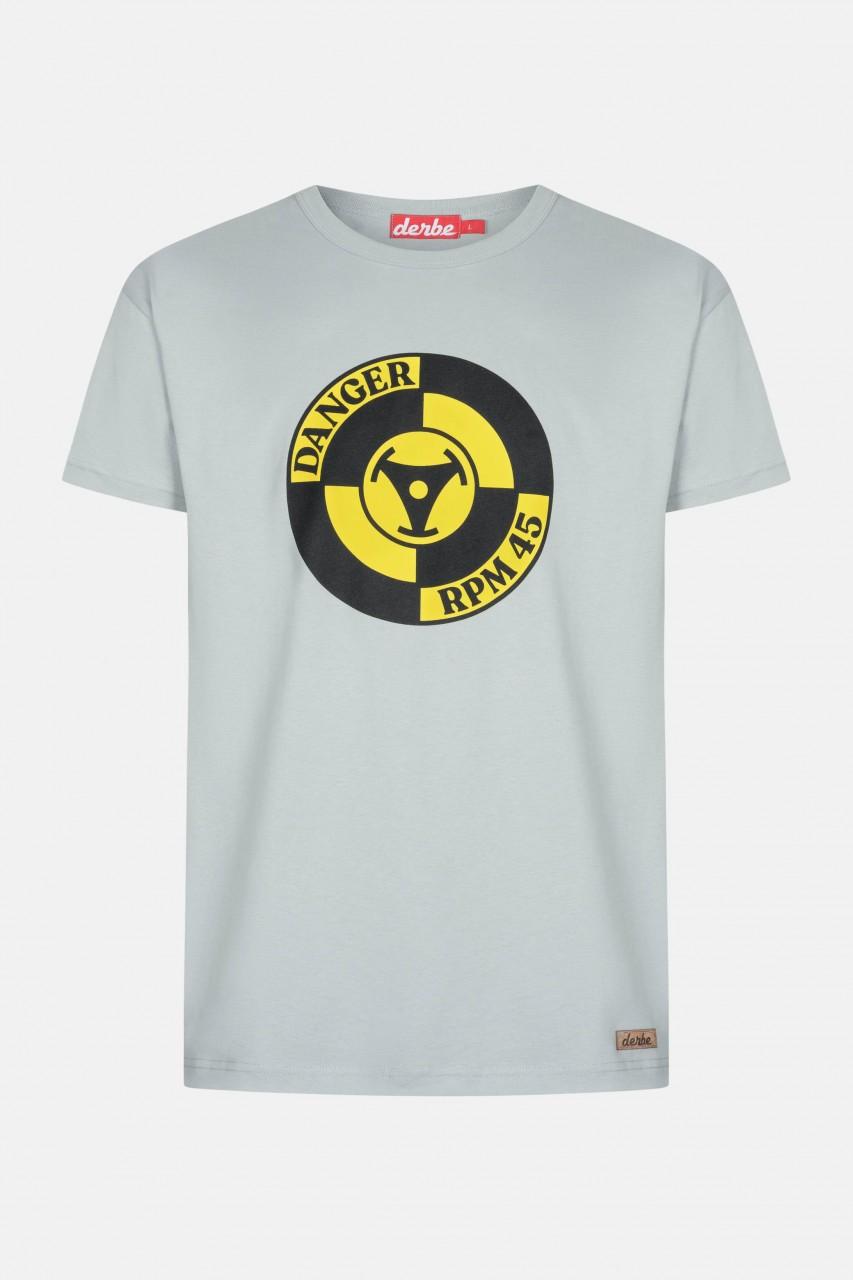 Derbe Danger Herren T-Shirt Quarry Grau RPM 45