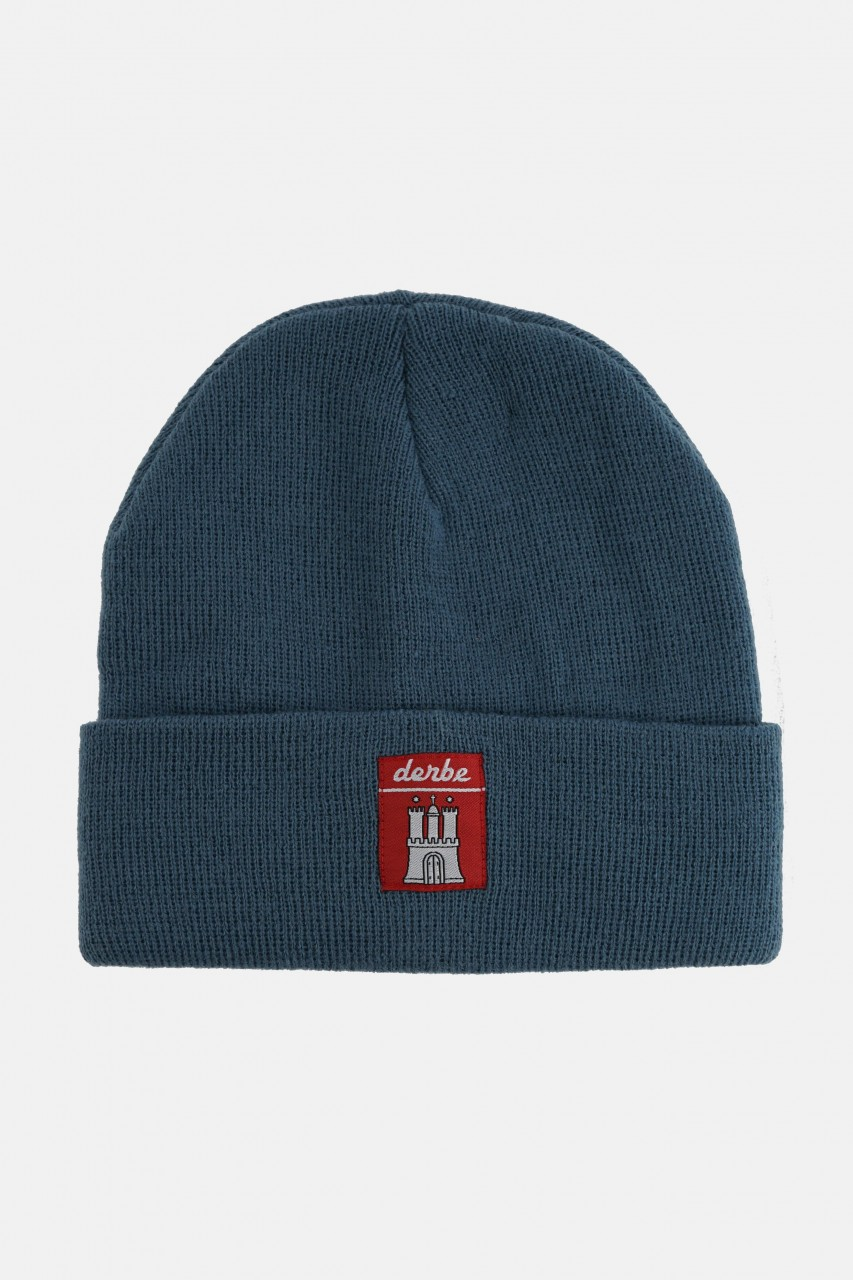 Derbe Mütze Blue Shadow Blau