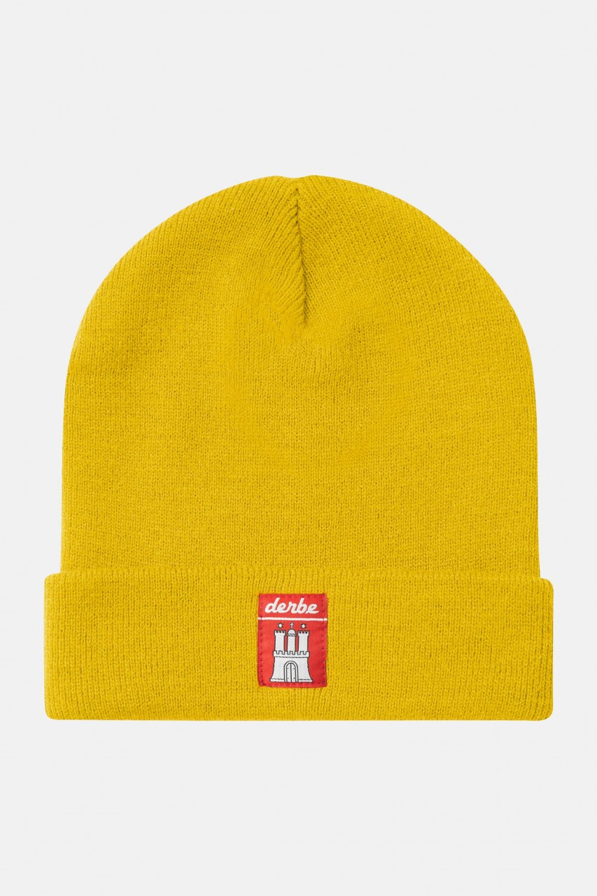 Derbe Mütze RC Gelb