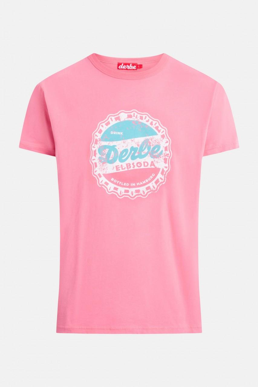 Derbe Elbsoda Herren T-Shirt Bubblegum