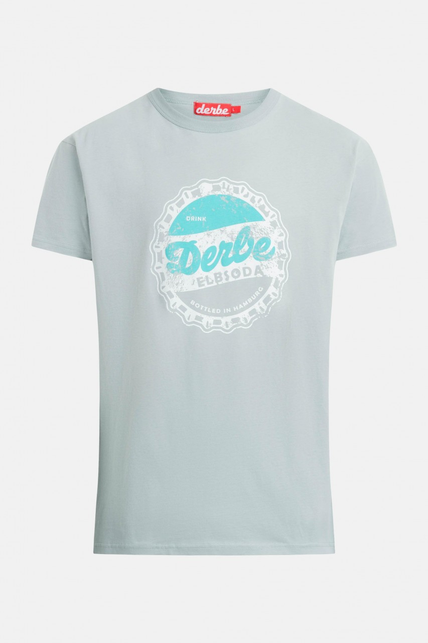 Derbe Elbsoda Herren T-Shirt Quarry Grau