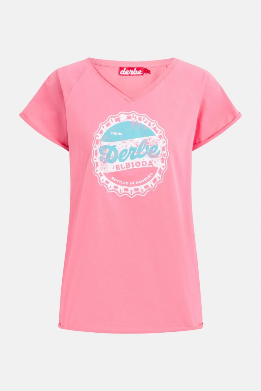 Derbe Elbsoda Damen T-Shirt Bubblegum Pink