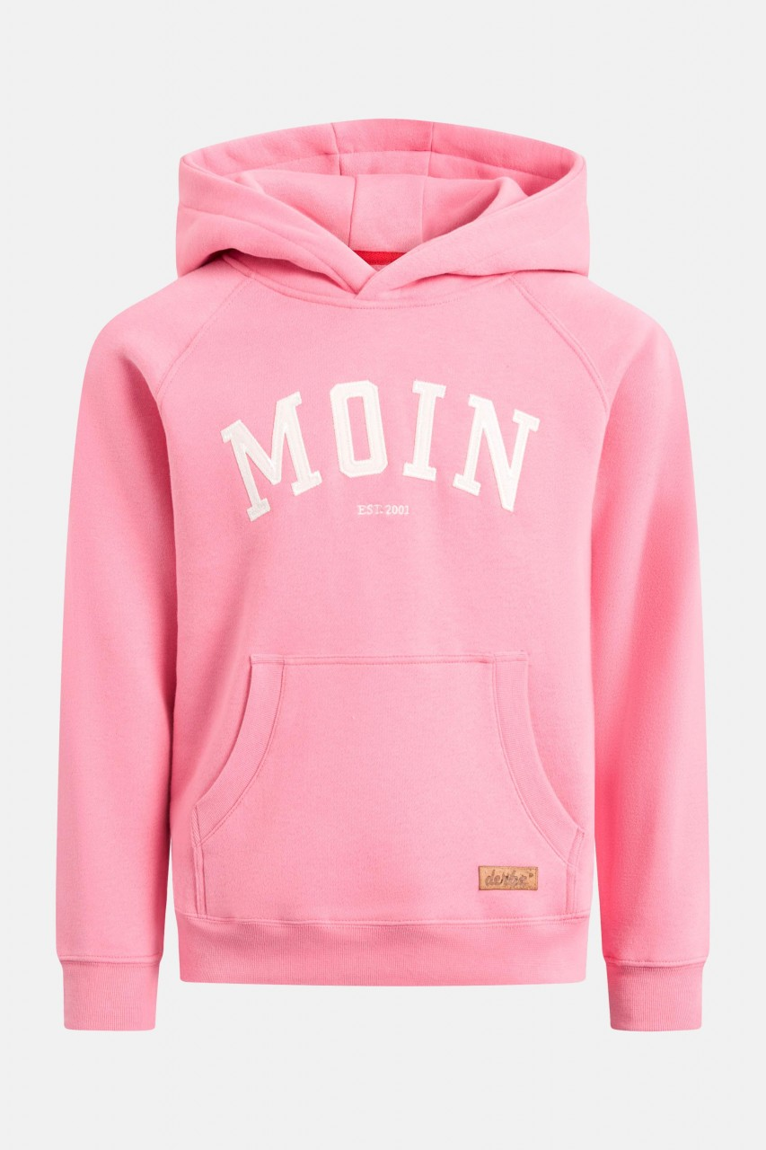 Derbe Favorite Hoody Kids Moin Kinder Kapuzenpullover Bubblegum Pink