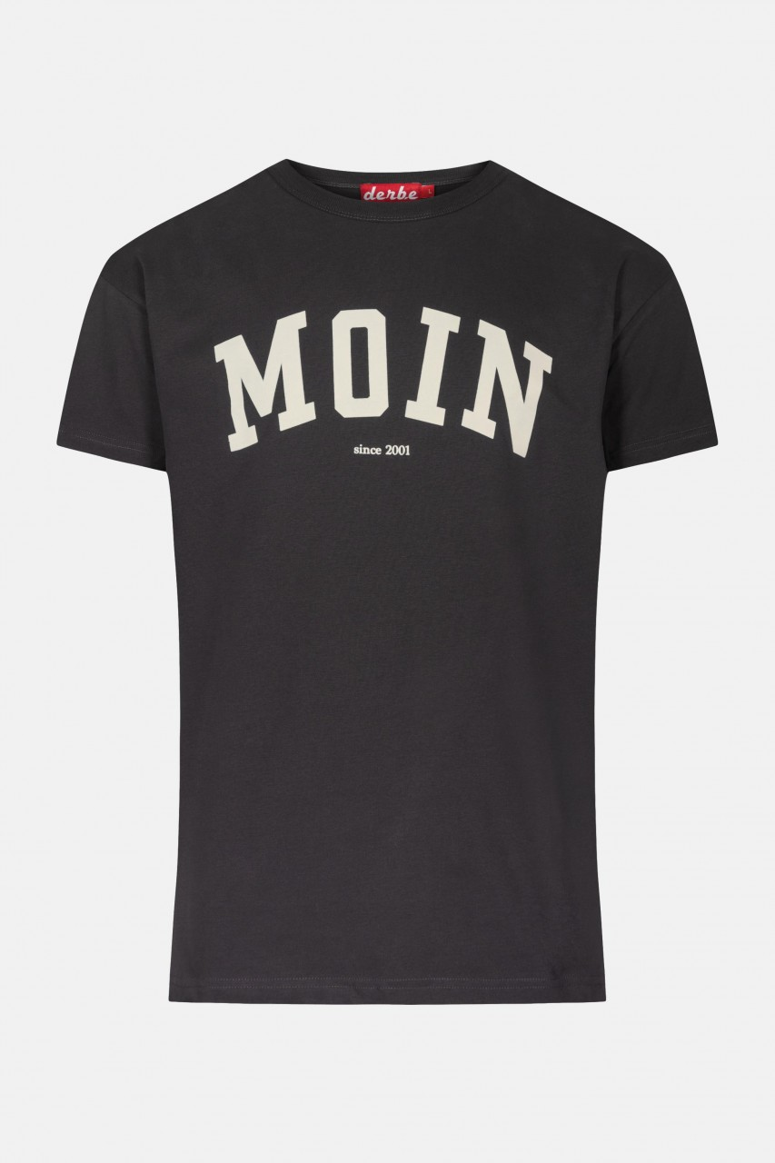 Derbe Moin T-Shirt Favorite Herren Schwarz