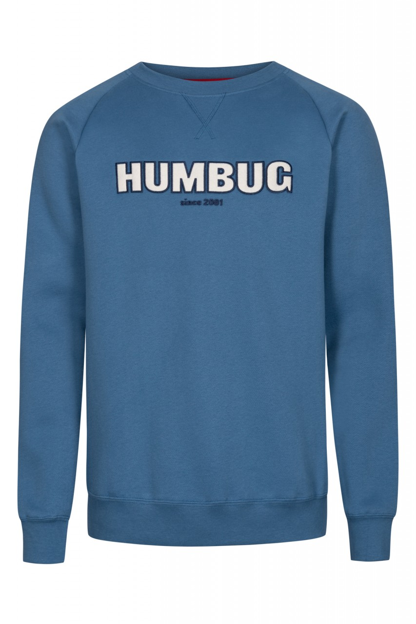 Derbe Horst Humbug Herren Pullover Blau