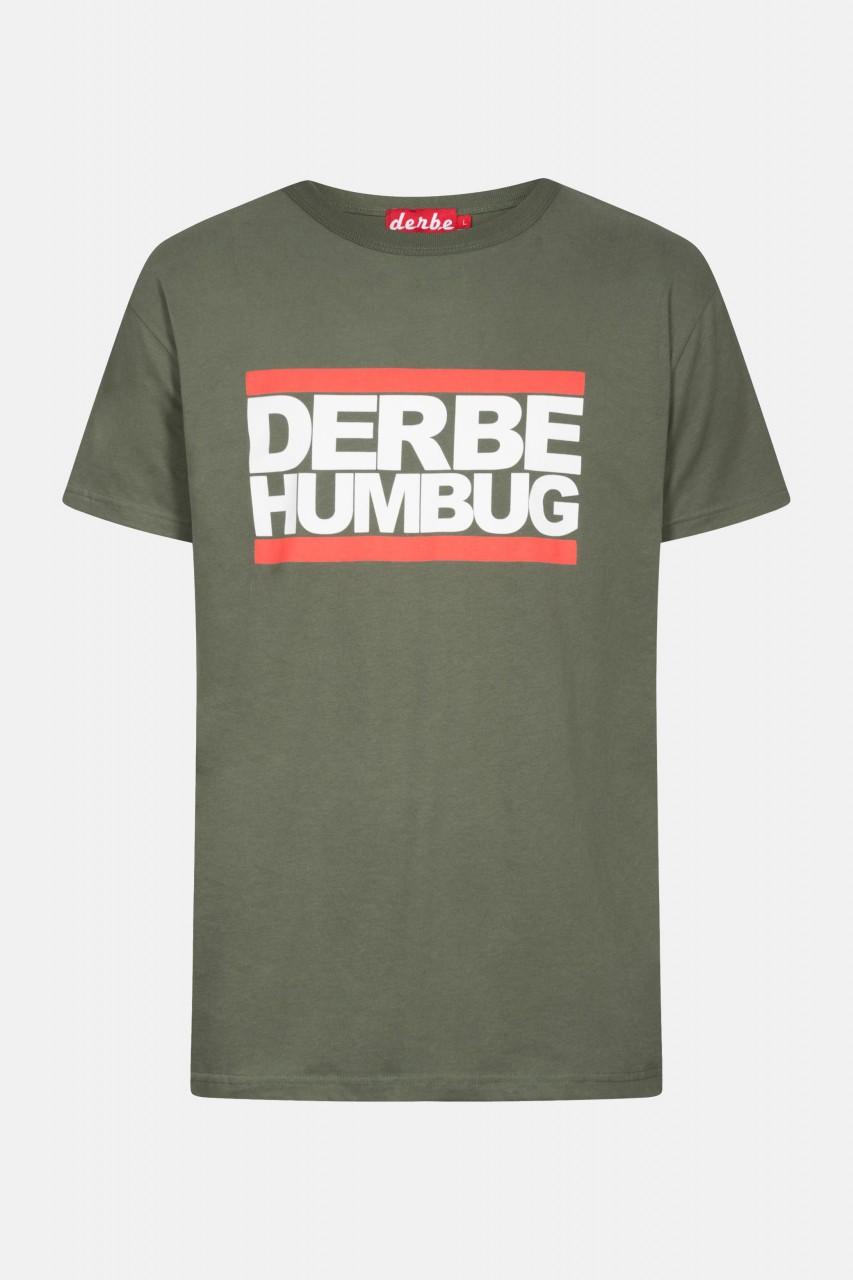 Derbe Humbug Herren T-Shirt Oliv