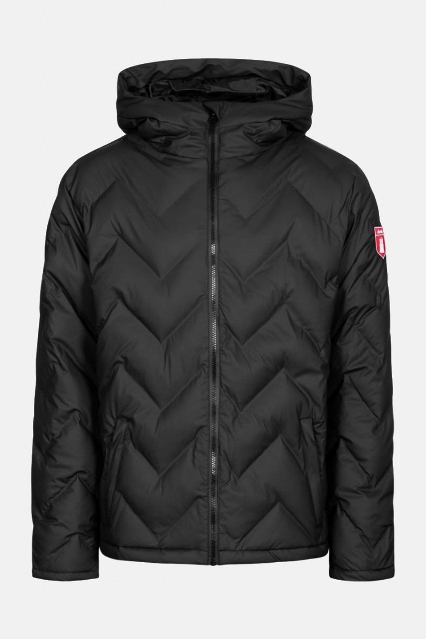 Derbe Interlink Herren Winterjacke Phantom Schwarz
