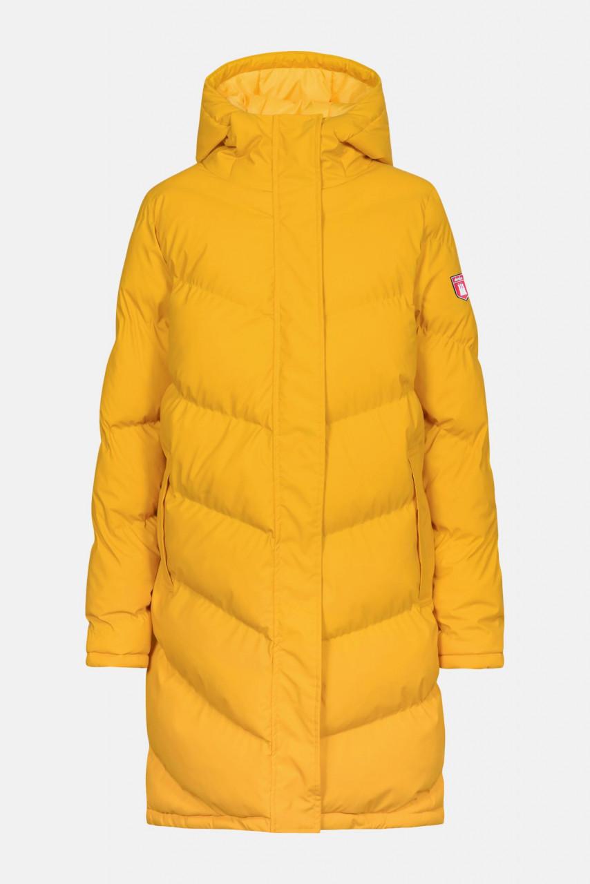 Derbe Ipsholm Damen Wintermantel Steppmantel Yellow Gelb