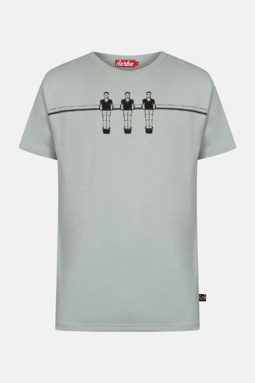 Derbe Kicker Herren T-Shirt Quarry Grau Ohne Kurbeln Kicker