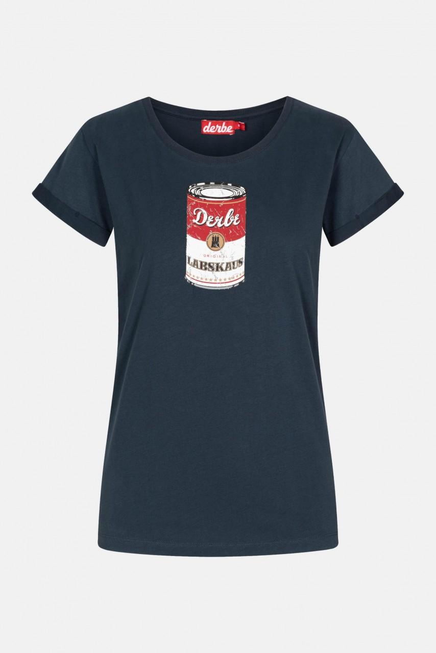 Derbe Labskaus Damen Shirt Navy Dunkelblau