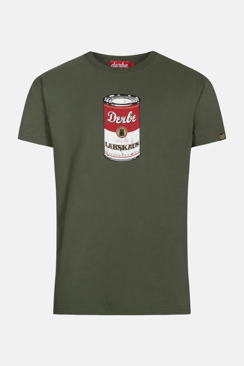 Derbe Labskaus Herren Shirt Oliv