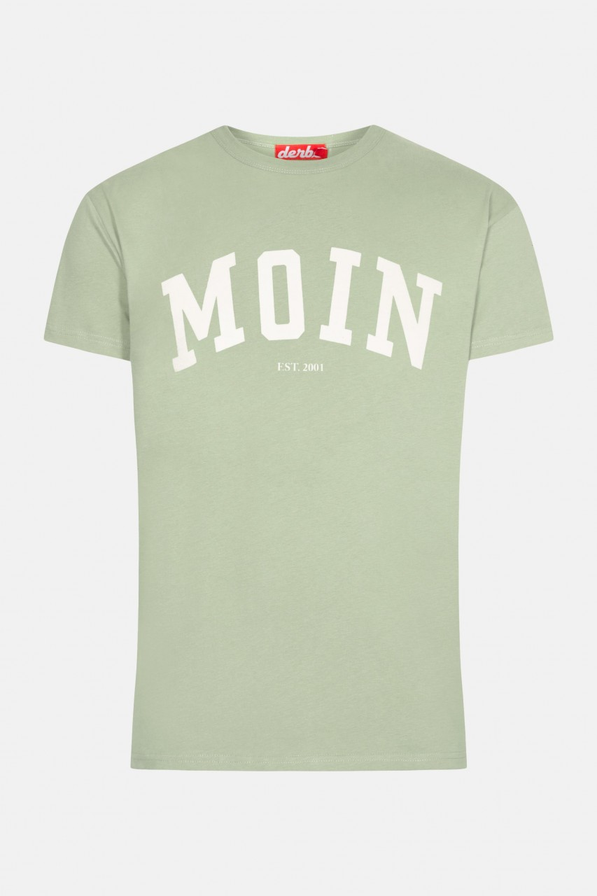 Derbe Moin Kinder T-Shirt Grün