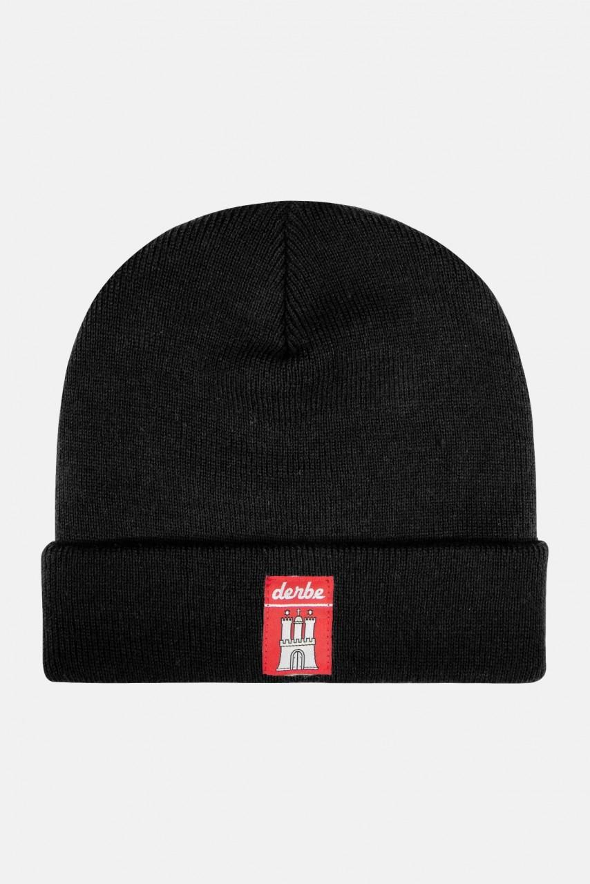Derbe Mütze Black Schwarz