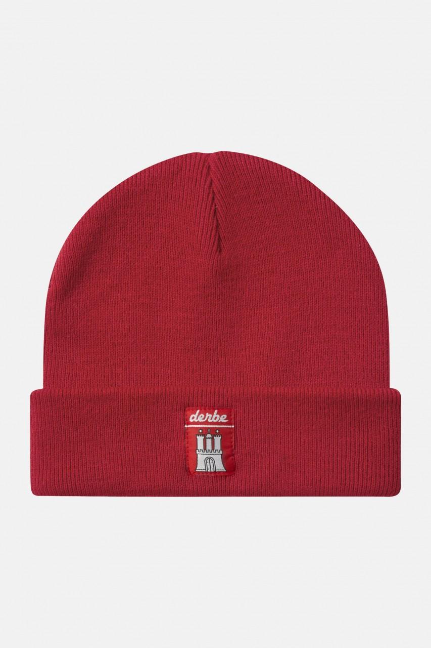 Derbe Mütze Red Rot