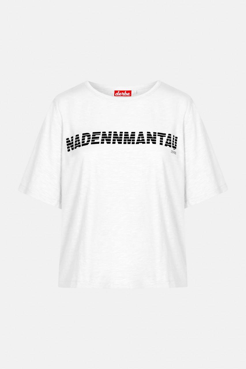 Derbe Nadennmantau Damen T-Shirt Weiß
