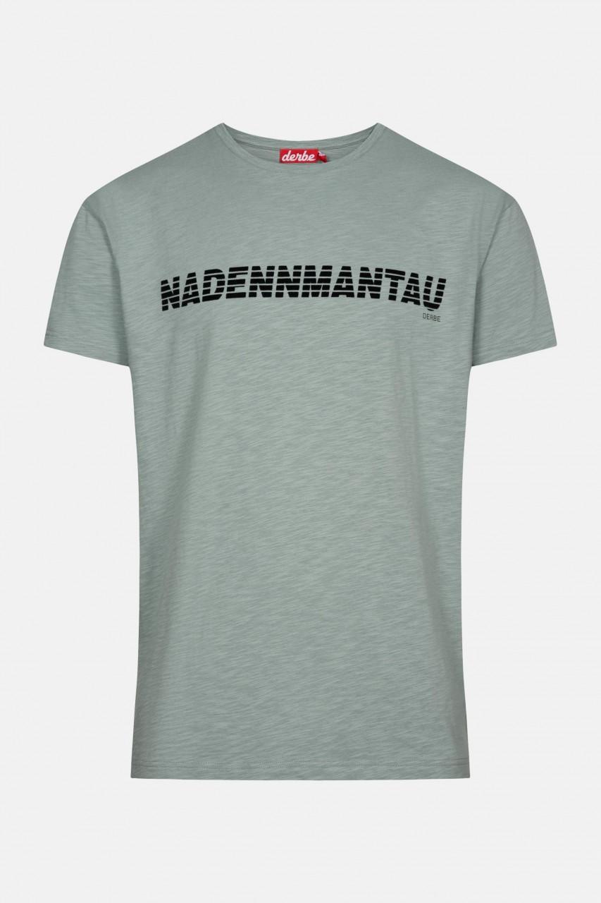 Derbe Nadennmantau Herren T-Shirt Quarry Grau