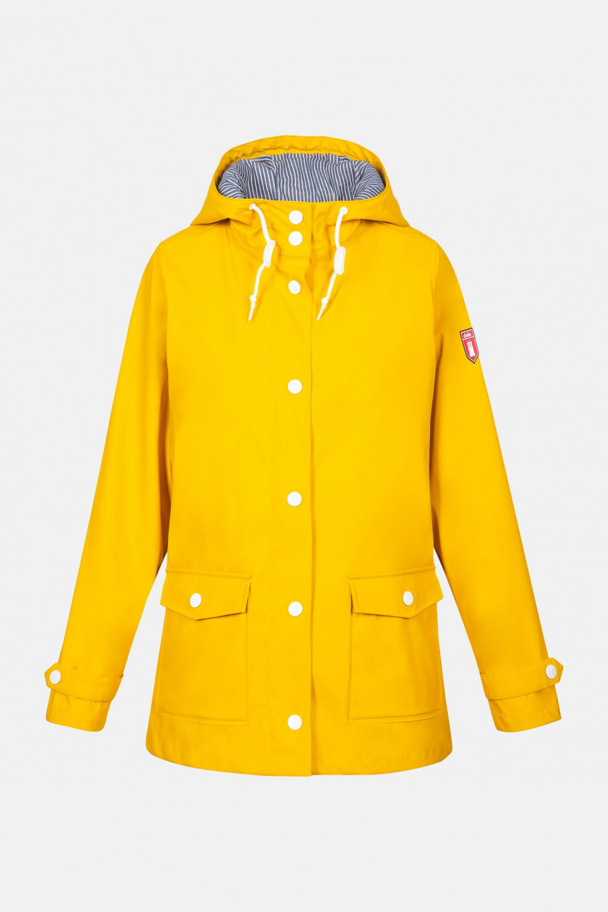 Derbe Peninsula Fisher 2 Damen Regenjacke Gelb
