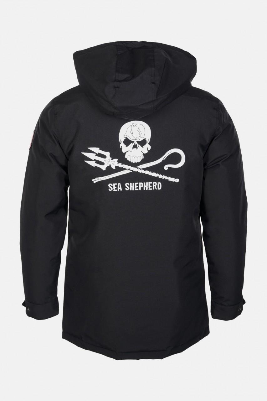 Derbe Sea Shepherd Winterjacke Streber Herren Schwarz