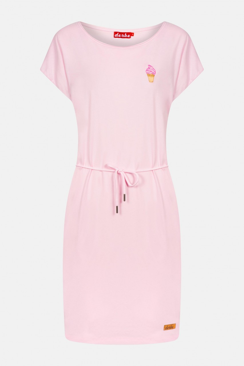Derbe Soft Ice Damen Kleid Rosa