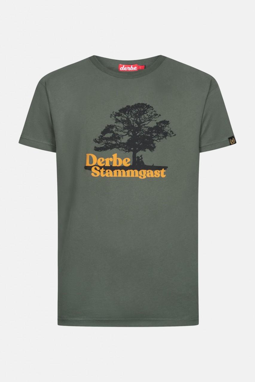 Derbe Stammgast Herren T-Shirt Oliv