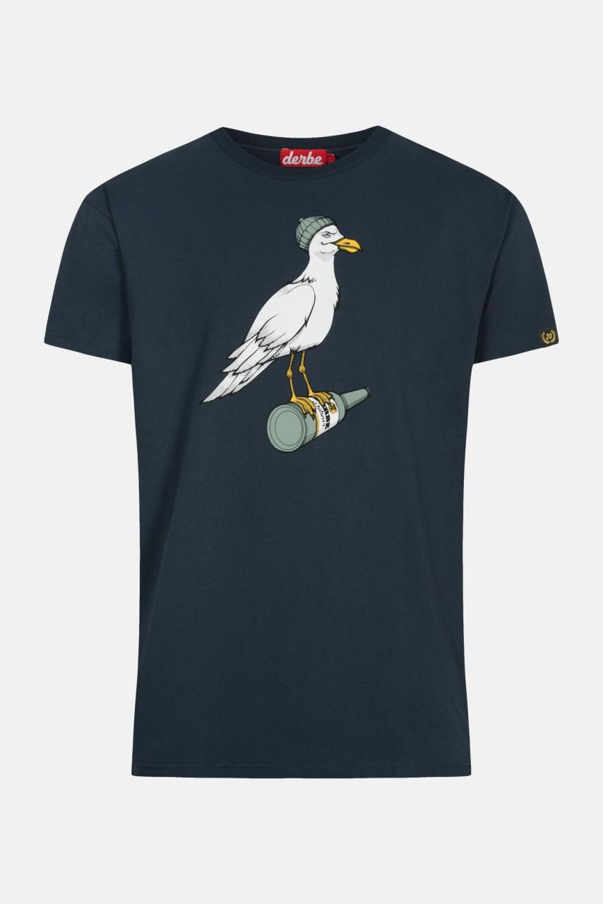 Derbe Sturmmöwe Herren T-Shirt Navy Dunkelblau