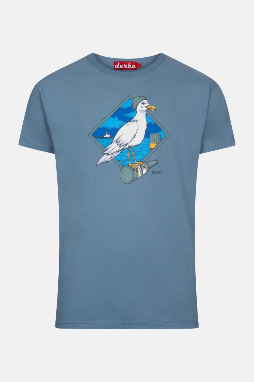 Derbe Sturmmöwe Blau Herren T-Shirt